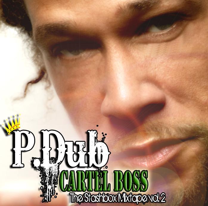 CD Cover P-DUB Cartel Boss